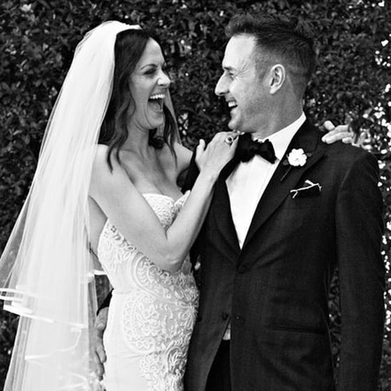 David Arquette and Christina McLarty Wedding Picture