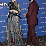 Emma and Andrew shared a laugh on the red carpet in Rome in April 2014.