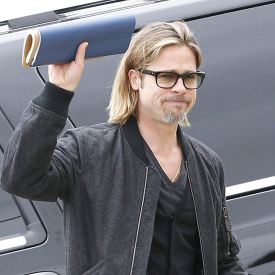 Brad Pitt Visits Lower Ninth Ward in NOLA Pictures