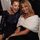 """On Goldie's Hawn Foundation: """"What my mom has spent these last 20 years focused on has been truly remarkable! #RoleModel."""" On her mother's relationship with Kurt Russell: """"I think what they have, in terms of connection, is really rare and beautiful and something to strive for, but it doesn't come without its stuff, [as do] all relationships."""""""