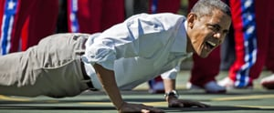 We Have a Lot of Questions After Listening to President Obama's Workout Playlist