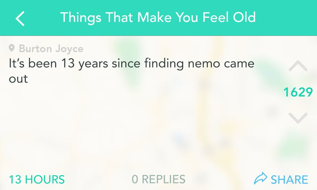 Realizing Nemo was found a long time ago.