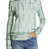 Raquel Allegra Tie Dye Cashmere Slim Sweater