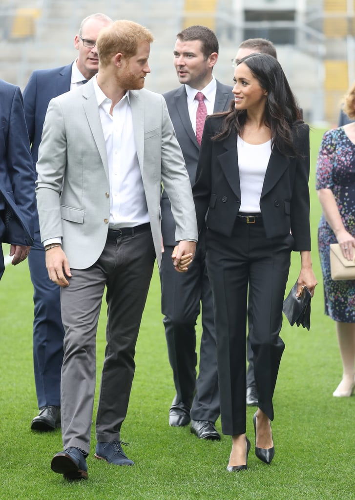 Meghan's Givenchy Trouser Suit