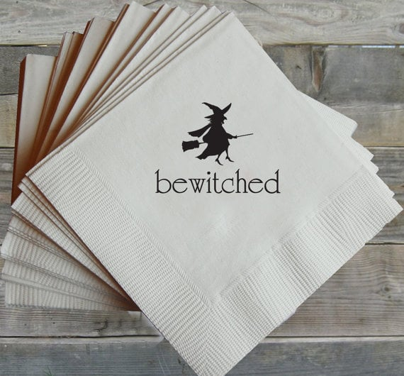 Bewitched Napkins