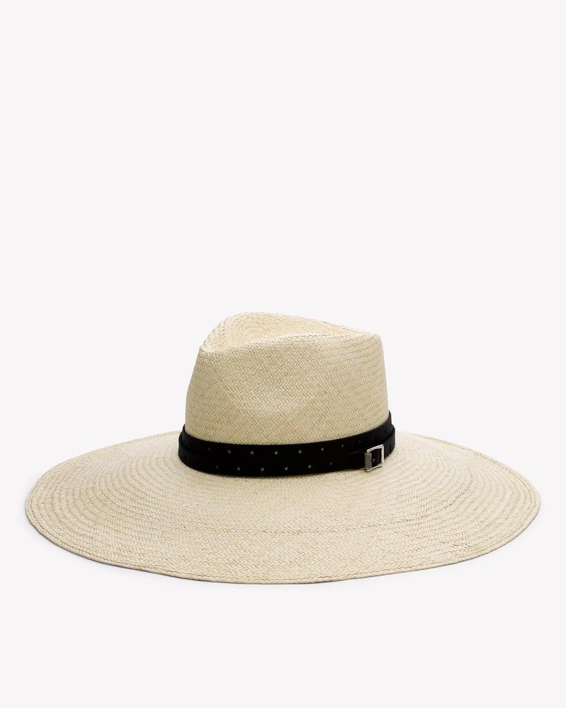 Rag & Bone Wide-Brim Panama Straw Hat