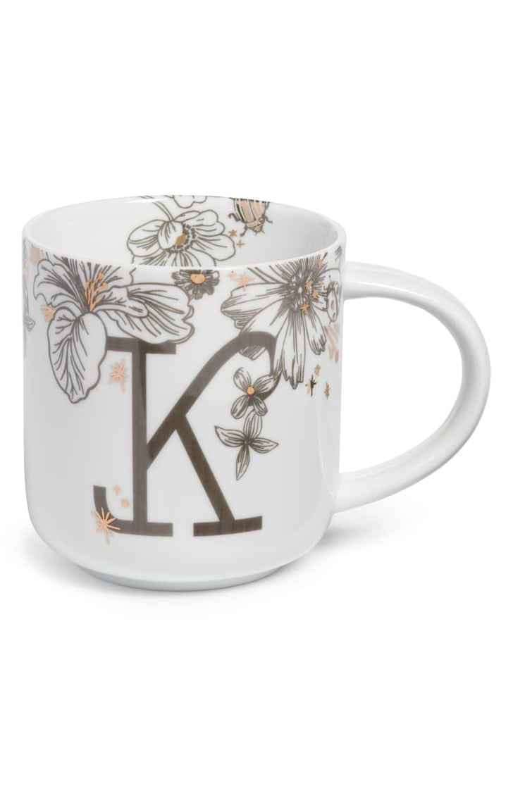 Mj Auto Sales >> Nordstrom at Home Floral Monogram Mug | Nordstrom Half Yearly Sale Home Products 2019 | POPSUGAR ...