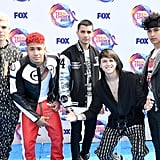 CNCO at the Teen Choice Awards 2019