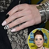 Nail mania continues on social media. We collected our favorite celebrity manicures of the week, and you selected this design sported by Ashley Benson as your favorite.