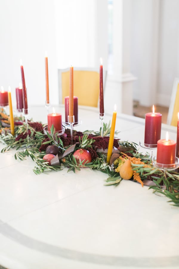 Layer in Pillar and Taper Candles