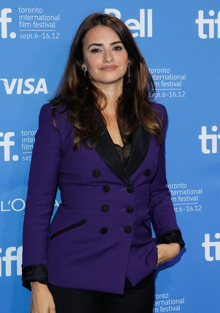 Penelope Cruz promoted Twice Born at TIFF.