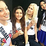 The controversy over Miss Israel's selfie takes second place in Google's Year of Search roundup. It sparked massive outrage and Miss Lebanon quickly defended herself.