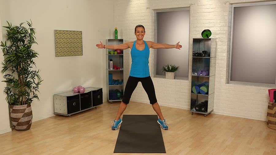 Seal Jack | Burn Major Calories With These Heart-Pumping Plyo Exercises |  POPSUGAR Fitness