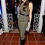 Victoria Wearing Her Fall 2012 Collection