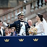 When Prince Carl Philip Showed Off His Bride