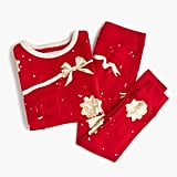 Crewcuts Girls' Pajama Set in Ribbons and Bows
