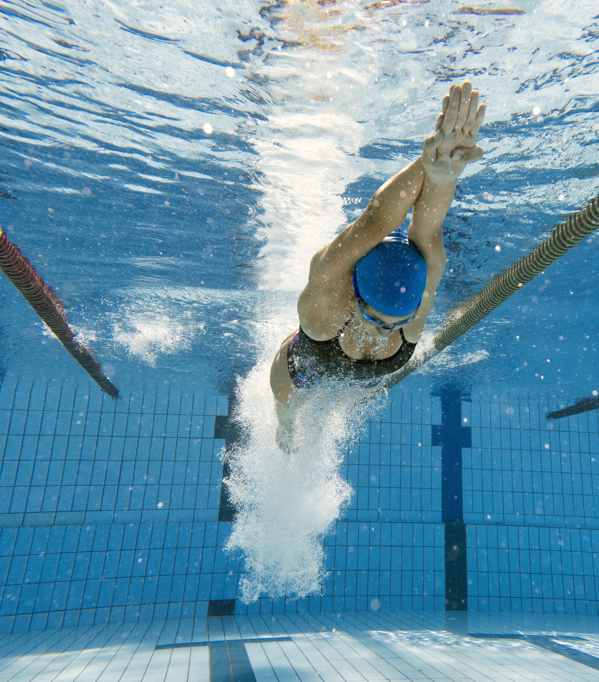 Target Your Legs With This Olympic-Swimmer-Approved Kick Workout