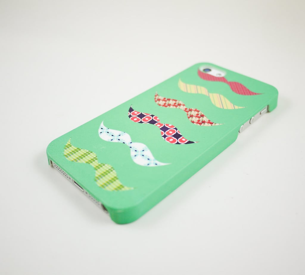 Colorful Mustaches Case
