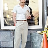 Justin Timberlake Filming Woody Allen Movie in NYC 2016