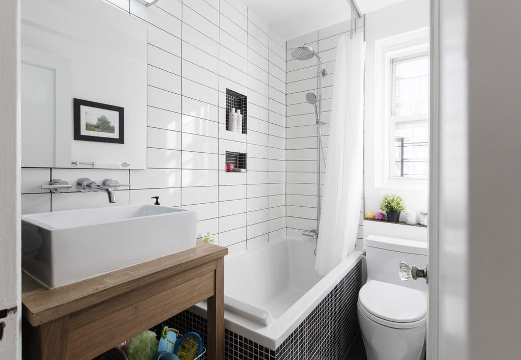 Picture of: Vessel Sink Small Bathroom Design Ideas Popsugar Home Uk Photo 9