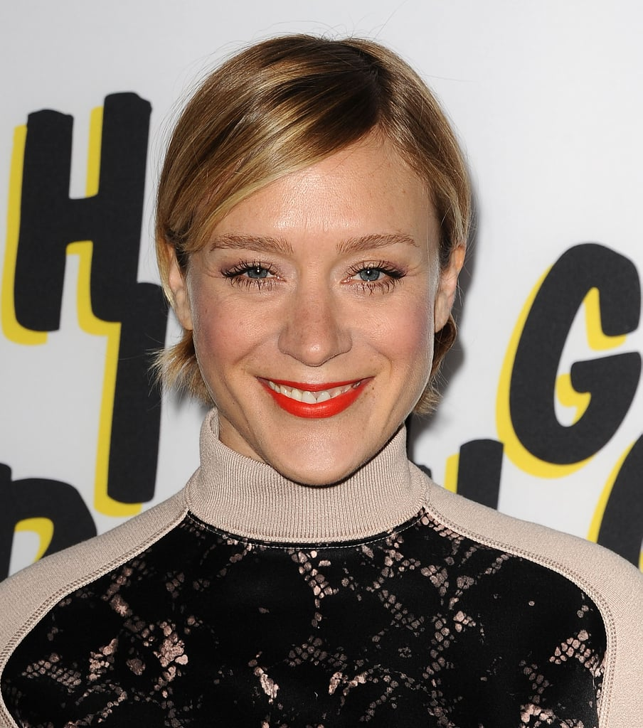 Chloe Sevigny Wore Her Short Bob Tucked Behind The Ears And Paired