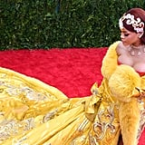 Rihanna's Famous Met Gala Dress Just Became the Fashion World's Best Halloween Costume