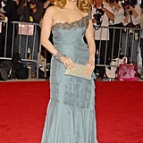Gorgeous in Alberta Ferretti for the 2008 Met Gala.