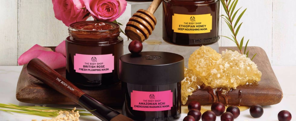 "The Body Shop Is Launching a Multimasking Skin Care ""Wardrobe"""