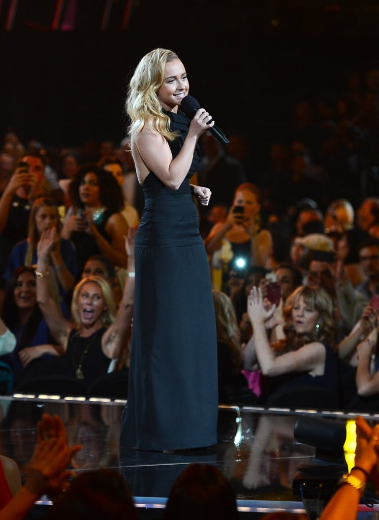 Hayden Panettiere made an appearance at the Billboard Music Awards.