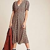 Hillary Button-Front Maxi Dress