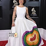 Joy Villa Pro-Life Dress at the 2018 Grammys