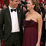 Cash and Jessica had a loving red carpet moment in LA at the 2008 Oscars.