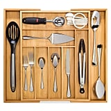 Kitchen: Bamboo Expandable Drawer Organizer