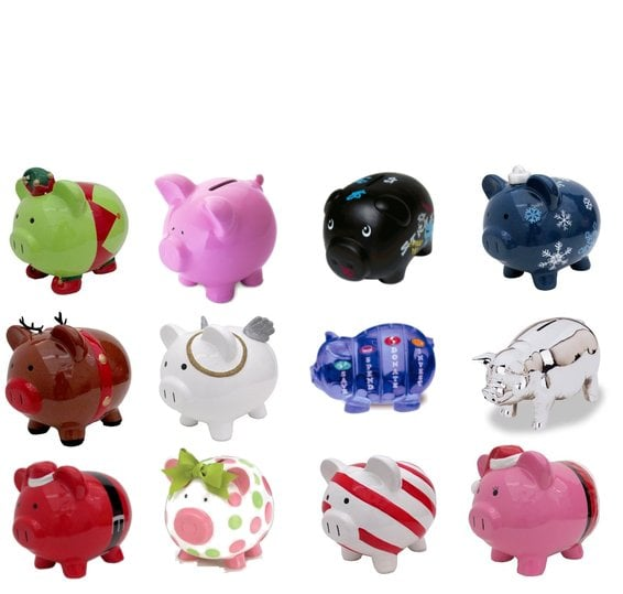 Piggy Banks For Gifts