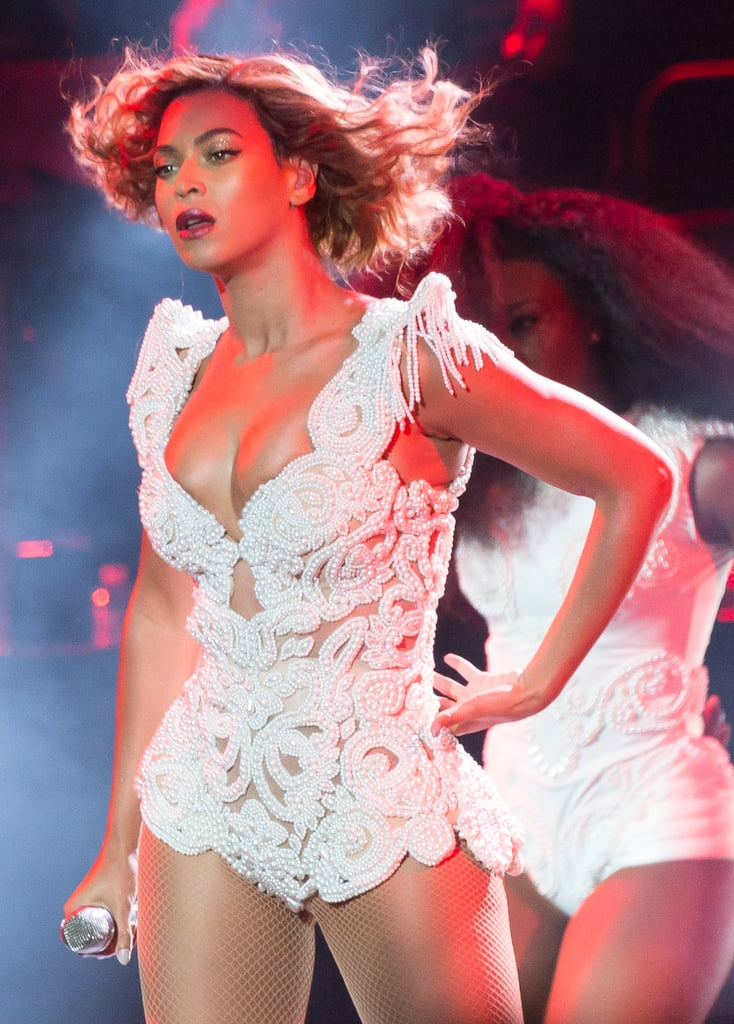 Beyoncé performed at the Made in America Festival.