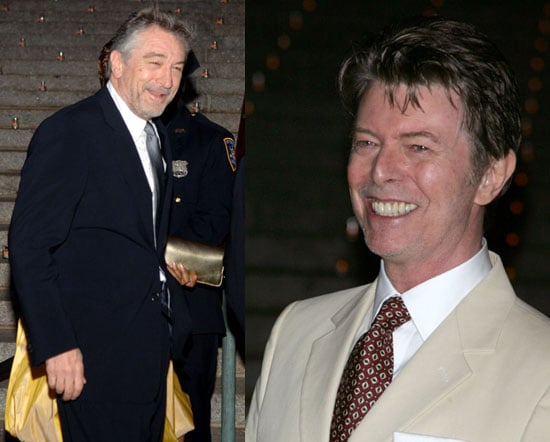 De Niro & Bowie Have Big Festivals, Bigger Egos