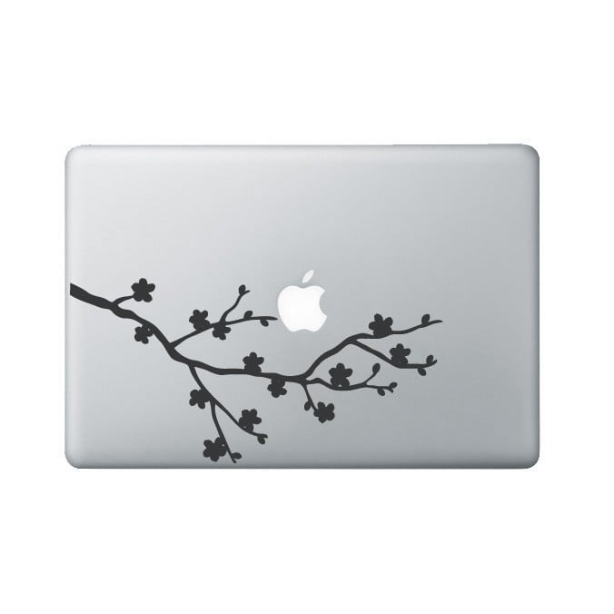 Cherry Blossom Laptop Decal