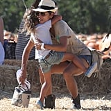 Halle Berry set Nahla Aubrey down.