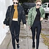 They have their athleisure looks down-pat.