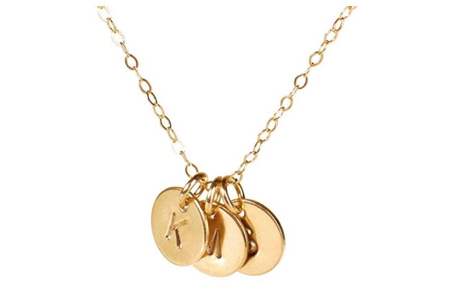 Efy Tal Jewelry Three Initial Necklace