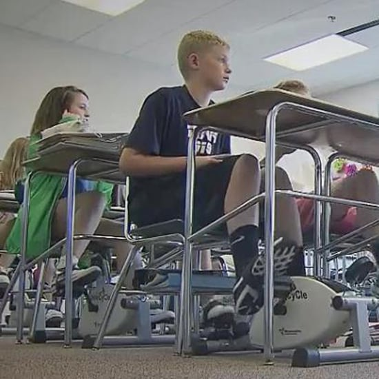 Middle School Teacher Adds Cycling Machines to Desks