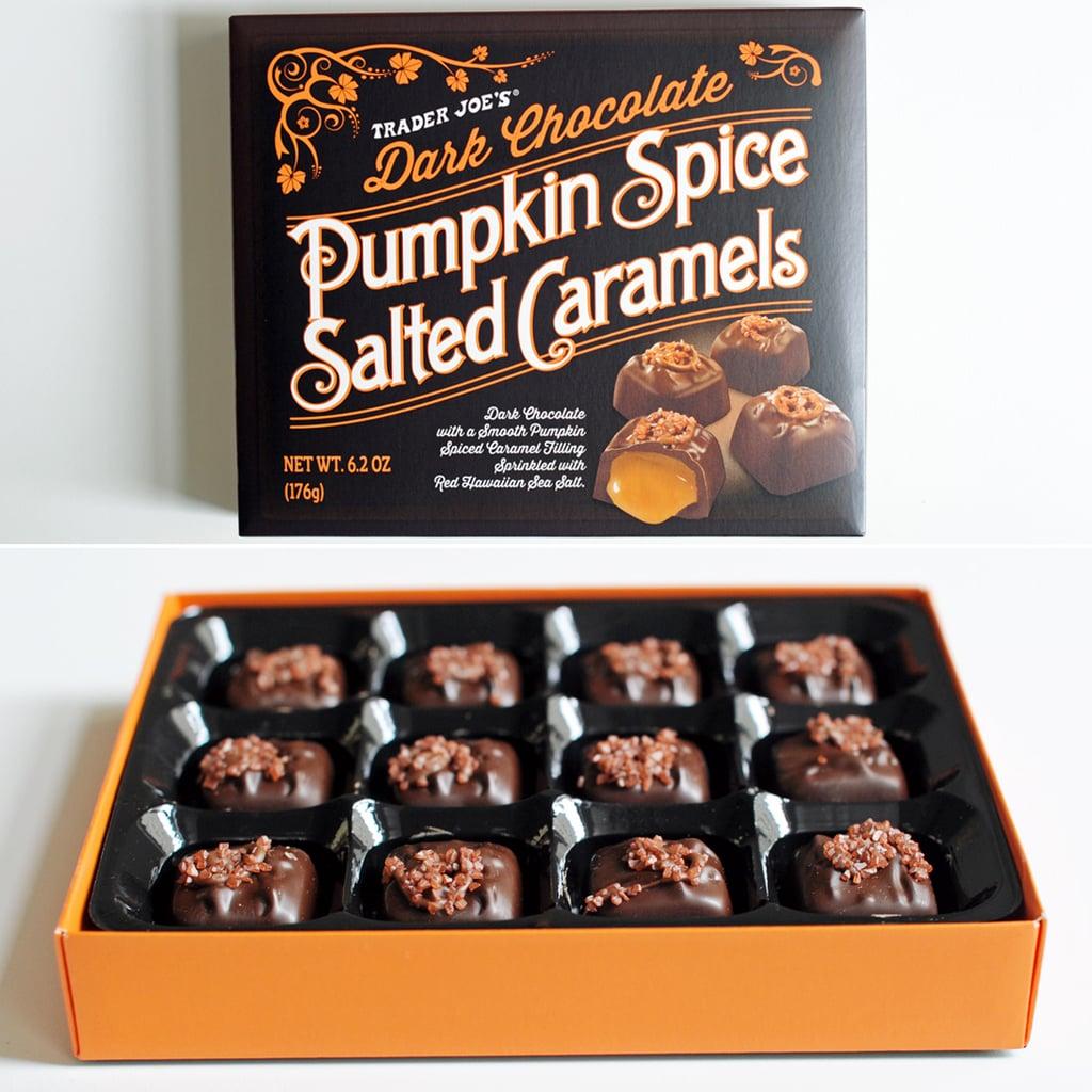 Trader Joe's Pumpkin Spice Salted Caramels