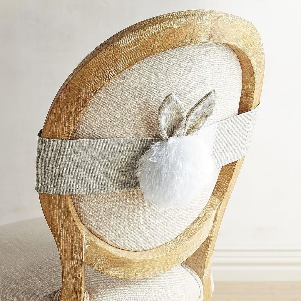 Bunny Tail Chair Decor ($8, originally $10)