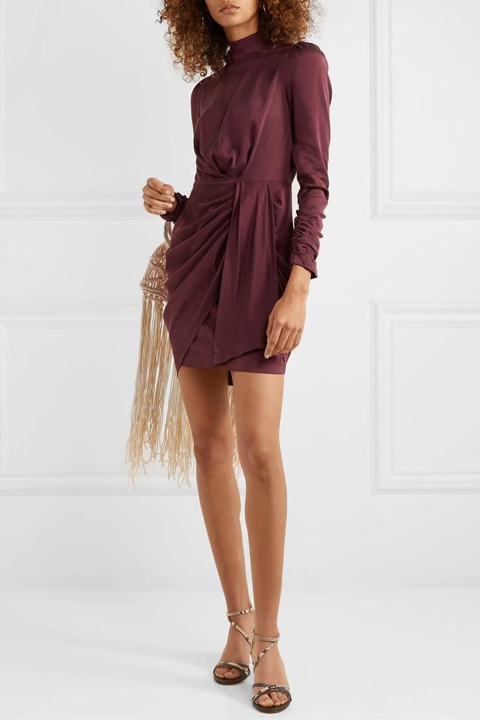 Zimmermann Draped silk-blend mini dress