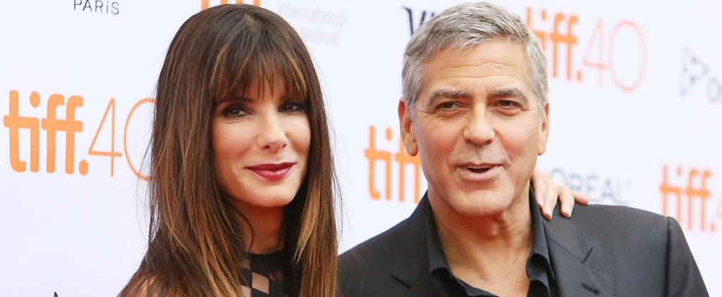 Sandra Bullock and George Clooney Have a Cute Reunion in Toronto