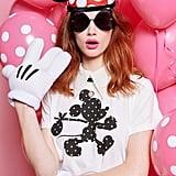 Black & White Polka Dot Mickey Tee