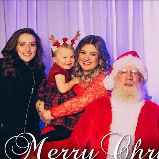 Kelly Clarkson Family Christmas Card 2016