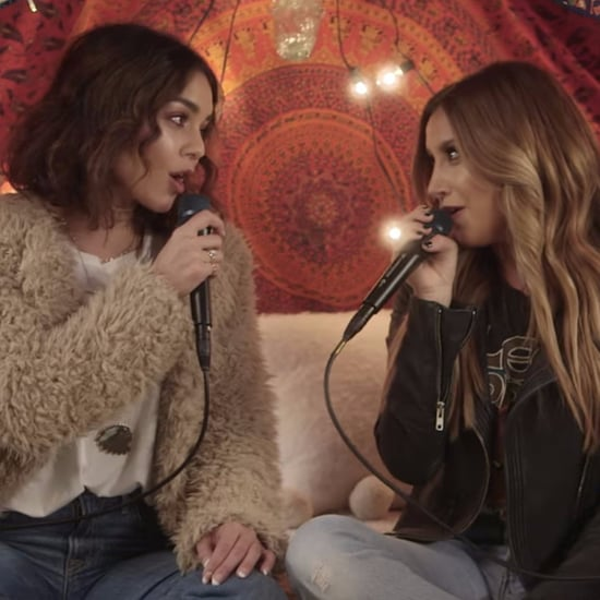 "Vanessa Hudgens and Ashley Tisdale Singing ""Ex's & Oh's"""