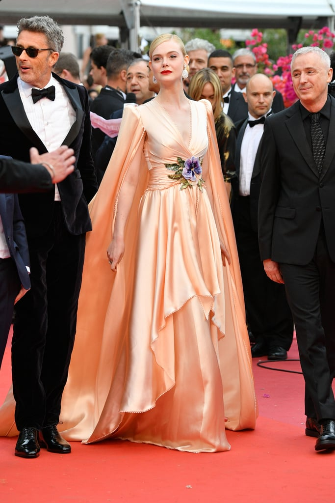 Elle Fanning in Gucci at the 72nd Annual Cannes Film Festival, May 2019