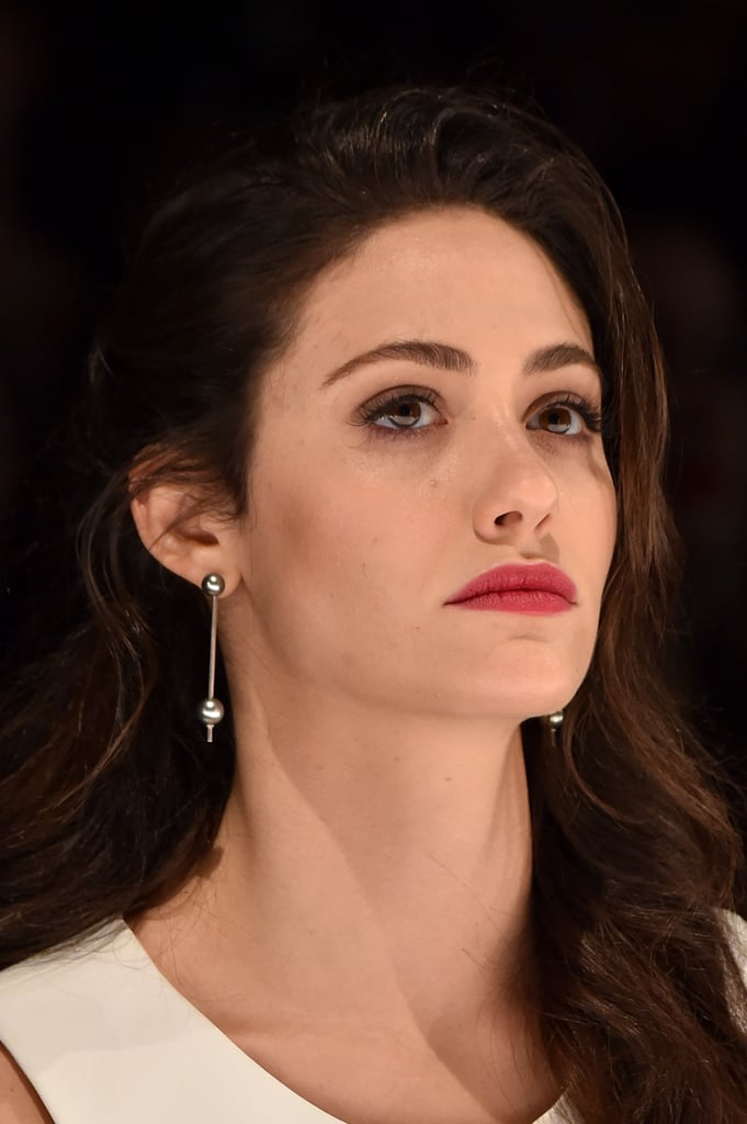 Emmy Rossum at Project Runway